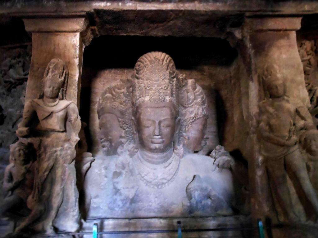 maheshmurti,elephanta,mumbai,india,maharashtra,caves,shiva,temple