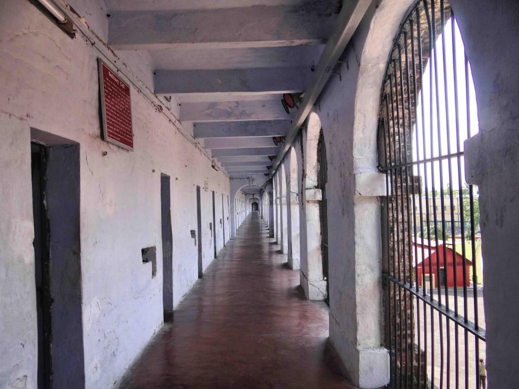 Andaman Island,India,Asia,cellular jail,corridor