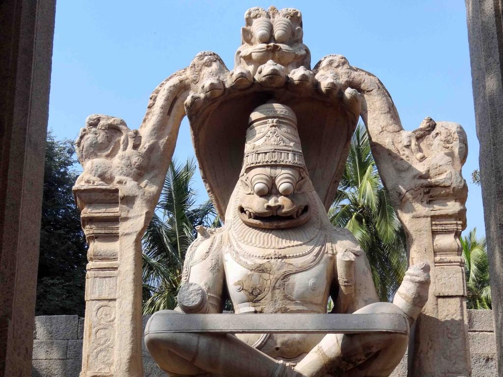hampi,karnataka,history,culture,heritage,Vijayangar kingdom,sculpture,art,narasimha