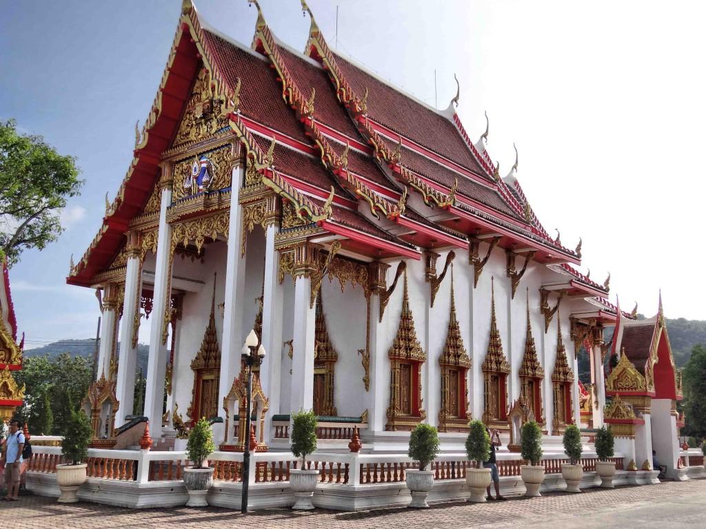 buddhist temple,wat chalong,phuket,thailand