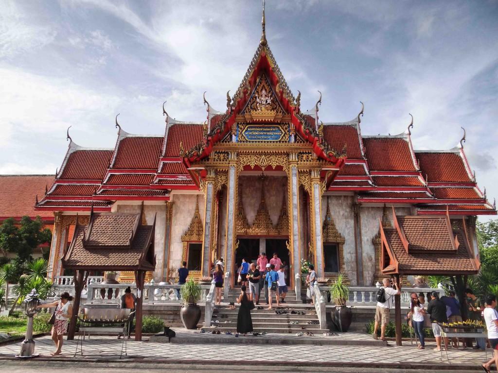 wat chalong, buddhist temple,phuket, thailand