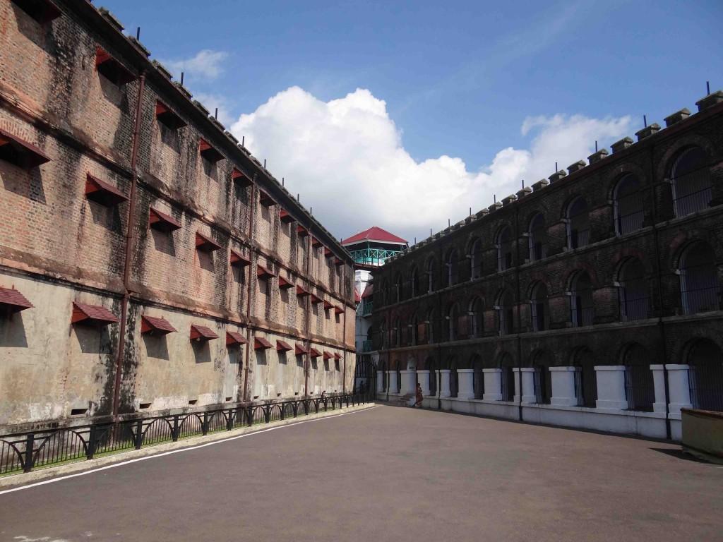 Andaman Island,India,Asia,cellular jail,watch tower, port blair