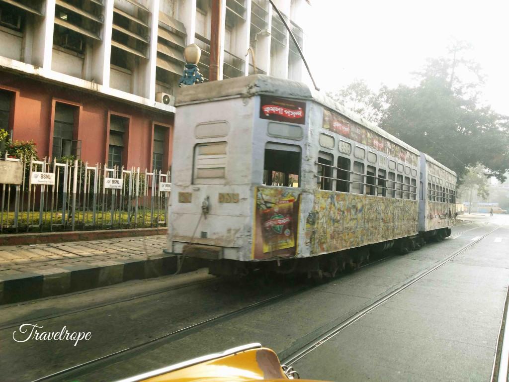 Kolkata,tram,vintage