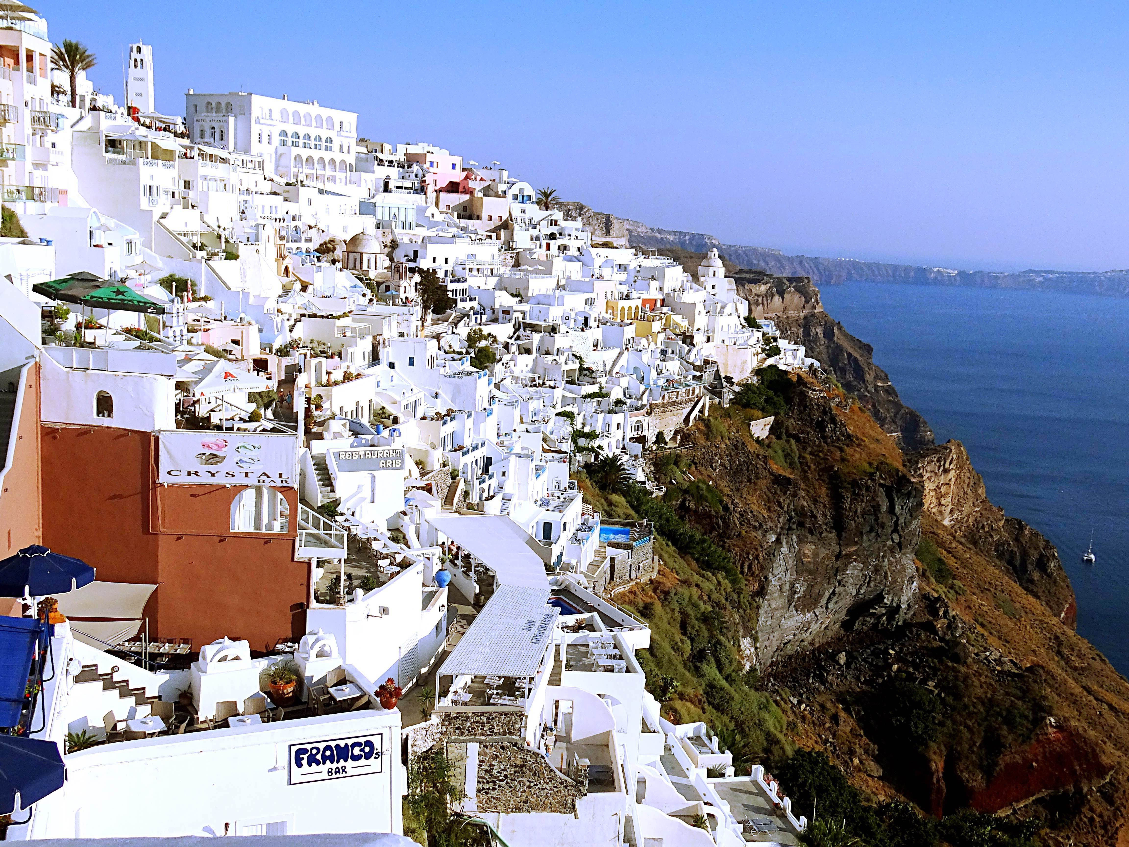 Santorini, I just fell in love with you !   Travelrope
