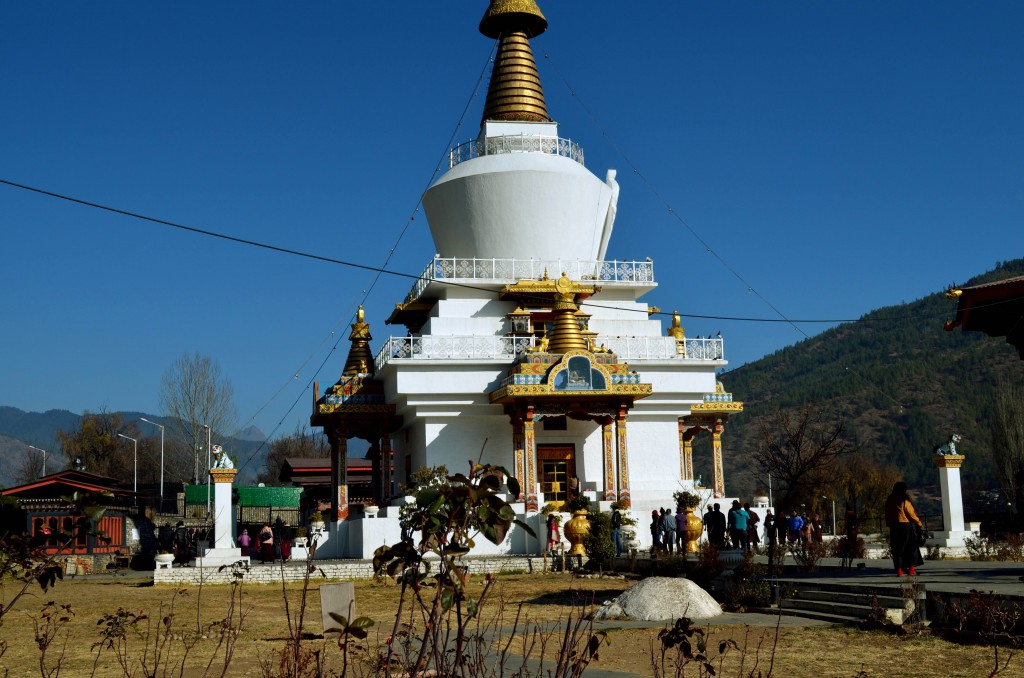 Memorial Chorten,Bhutan,Thimphu,Asia