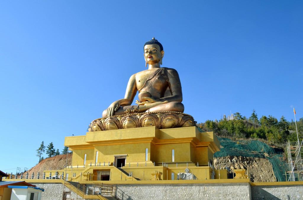 Sitting Buddha,Bhutan,Buddhism