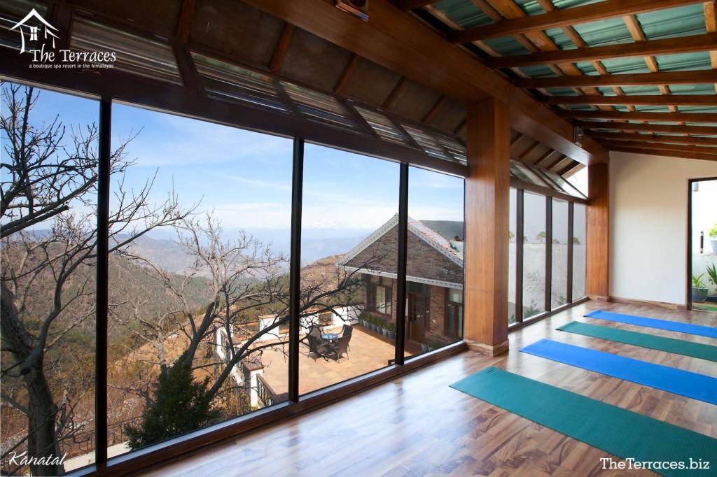 Terraces,kanatal,Uttarakhand,India,Resort,trekking,jeep safari,river side, mountains,greenery,nature,meditation