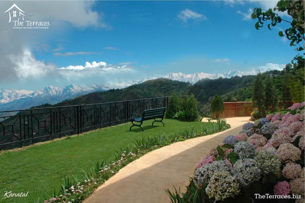 Terraces,kanatal,Uttarakhand,India,Resort,trekking,jeep safari,river side, mountains,greenery,nature