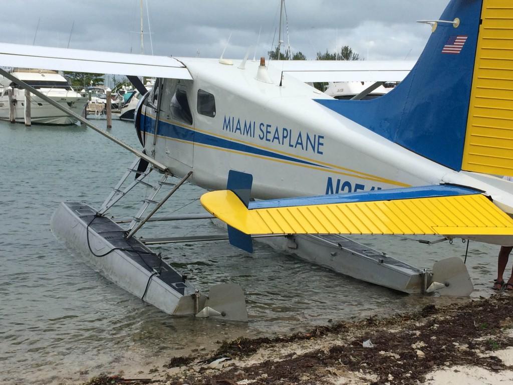 Miami sea plane