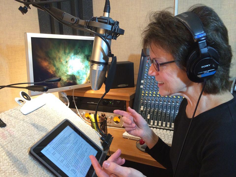 Susan Bennett,voice over artist, Siri,Inspire Me